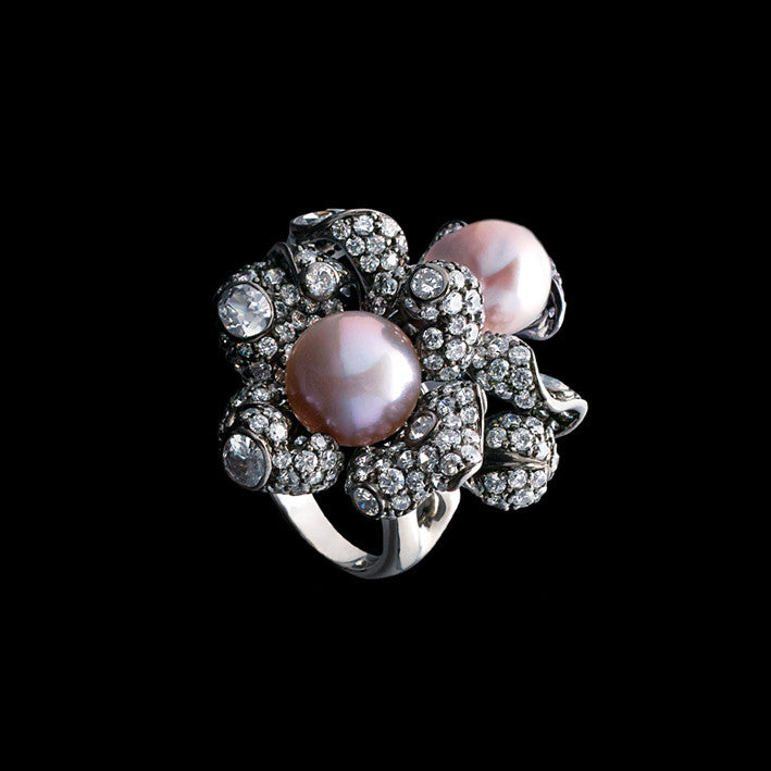 Blossom Pearl Ring