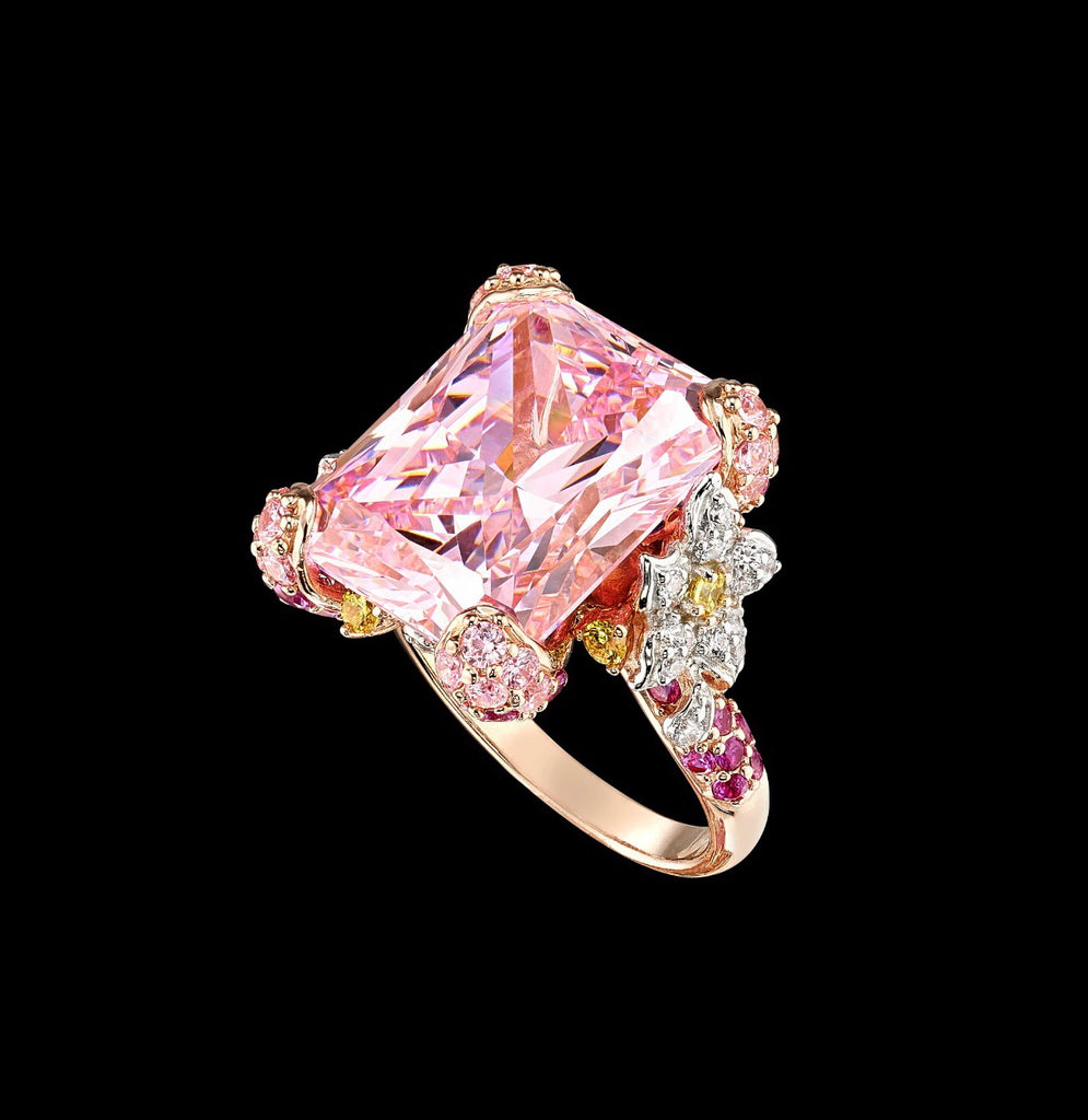 Pale Rose Cinderella Ring