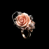 Rose Monkey Ring