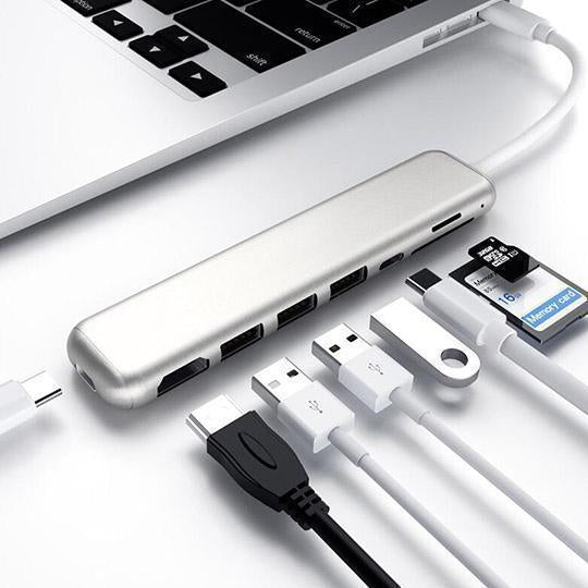 8 in 1 Hub Adapter für MacBook