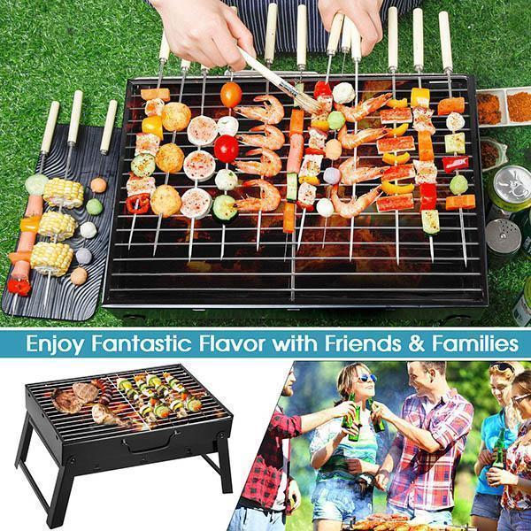 Faltbare Holzkohlegrill BBQ Grill
