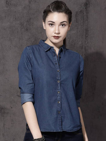Stylish Denim Shirts