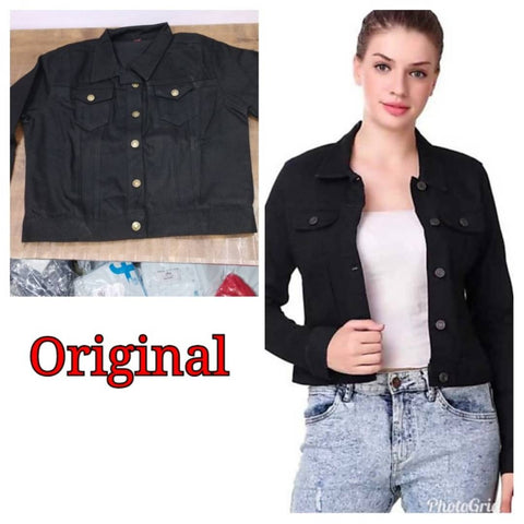 Tough Looking Denim Jackets For Women