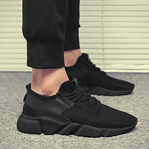 Trendy man ultra black shoes