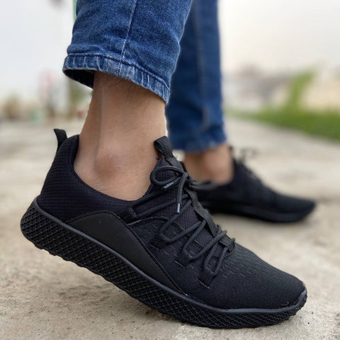Men's stylish  knitted Mesh  casual sneakers shoes