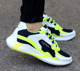 Men's Stylish and Trendy Multicoloured Self Design Mesh Casual Sports Shoes