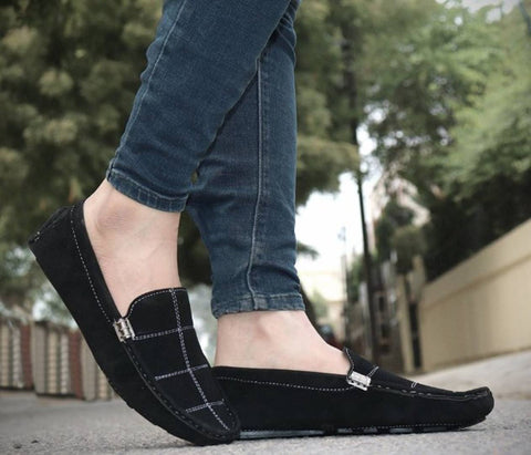 Stylish Black Loafer Shoe For Men
