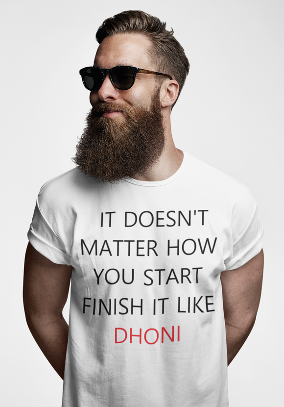 DHONI LOVER'S T-SHIRT
