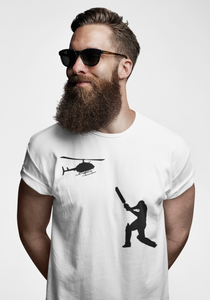 HELICOPTER SHOT T-SHIRT
