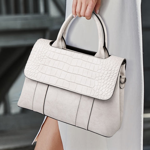 Classic Leather Luxury Handbag