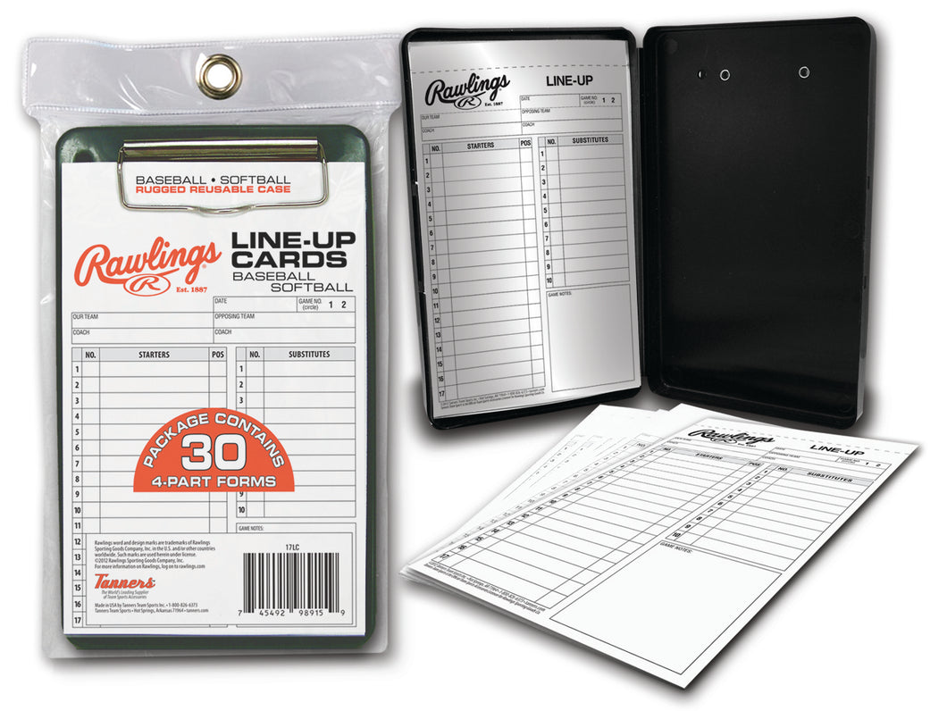 Rawlings Line-Up Card Case (30 cards)