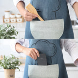 Cookbear Waterproof Apron With Pocket