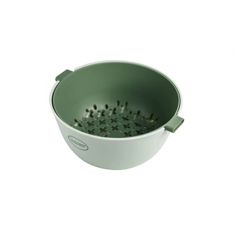 Double Layered Colander Basket With Handles