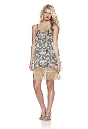 Maaji Hippie Fringe Short Dress - shaymartian