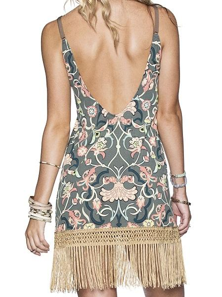 Maaji Swimwear Hippie Fringe Dress - shaymartian