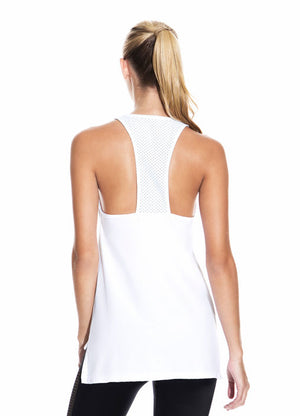 Maaji Sly White Tank Top - shaymartian