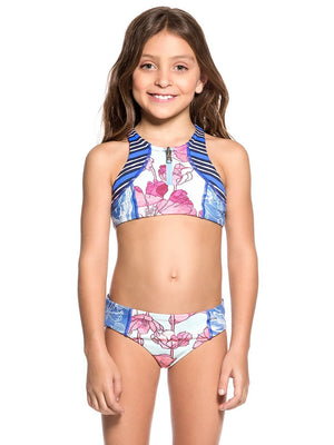 Maaji Swimwear Aquarelle Mirror Girls Bikini Kids - shaymartian