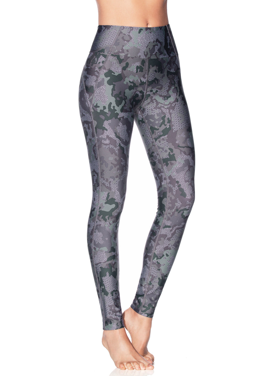 Maaji Dazeful Highcamo Tourmaline Leggings - shaymartian