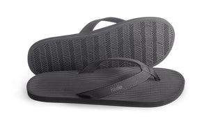 Indosole Men's ESSNTLS Black - shaymartian