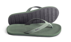 Indosole Men's ESSNTLS Flipflops Leaf - shaymartian