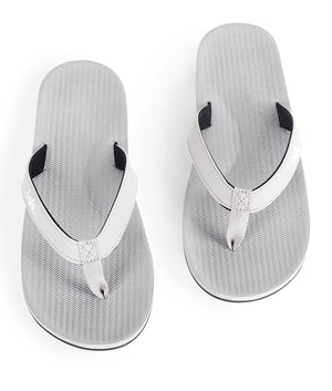 Indosole Men's ESSNTLS Flipflops Granite - shaymartian