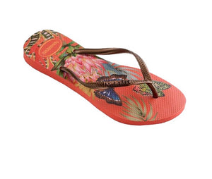 Havaianas Womens Slim Tropical Strawberry - shaymartian