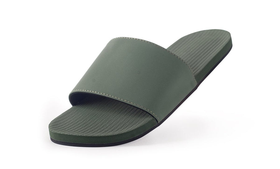 Indosole Women's ESSNTLS Slide Leaf - shaymartian
