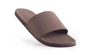 Indosole Men's ESSNTLS Slide Soil - shaymartian