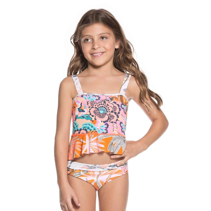 Maaji Swimwear Florencia Sunset Girls Bikini Kids - shaymartian