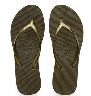 Havaianas Womens High Light  Dark Khaki - shaymartian
