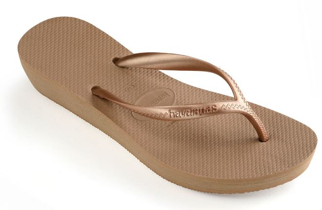 Havaianas Womens High Light Rose Gold - shaymartian
