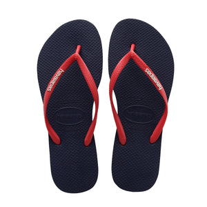 Havaianas Slipper Slim Pop Up - Navy Blue/Red - shaymartian