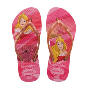 Havaianas Kids Slim Princess - Rose - shaymartian