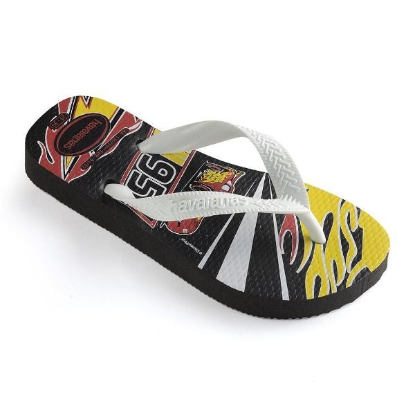 Havaianas Kids Cars Black/White - shaymartian