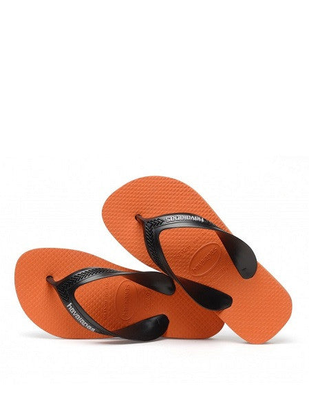 Havaianas Kids Max Neon Orange Flip Flops - shaymartian