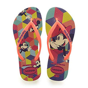 Havaianas Kids Slim Disney Cool Neon/Yellow - shaymartian