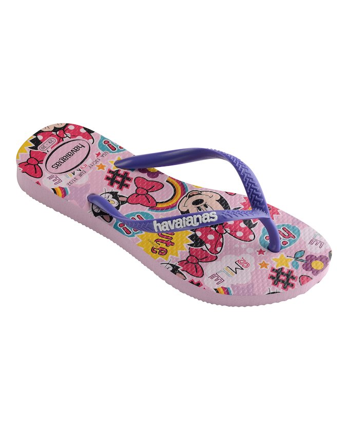 Havaianas Kids Slim Disney Cool Rose Quartz - shaymartian
