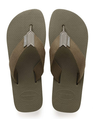 Havaianas Mens Urban Basic Dark Khaki - shaymartian
