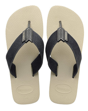 Havaianas Mens Urban Basic Beige/Black - shaymartian