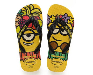 Havaianas Kids Minions  Yellow/Black - shaymartian