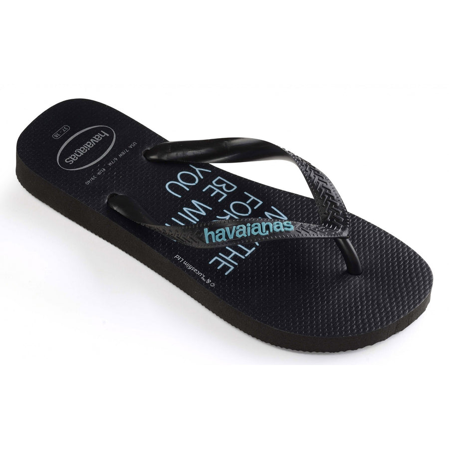 Havaianas Mens Star Wars Black/Blue - shaymartian