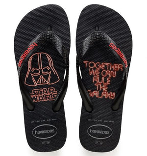 Havaianas Mens Star Wars Black/Red - shaymartian