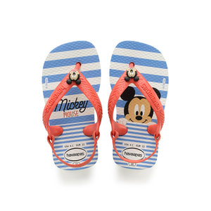 Havaianas Baby Disney Classics White/Strawberry - shaymartian