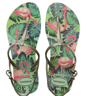 Havaianas Womens Freedom Print Apple Green - shaymartian