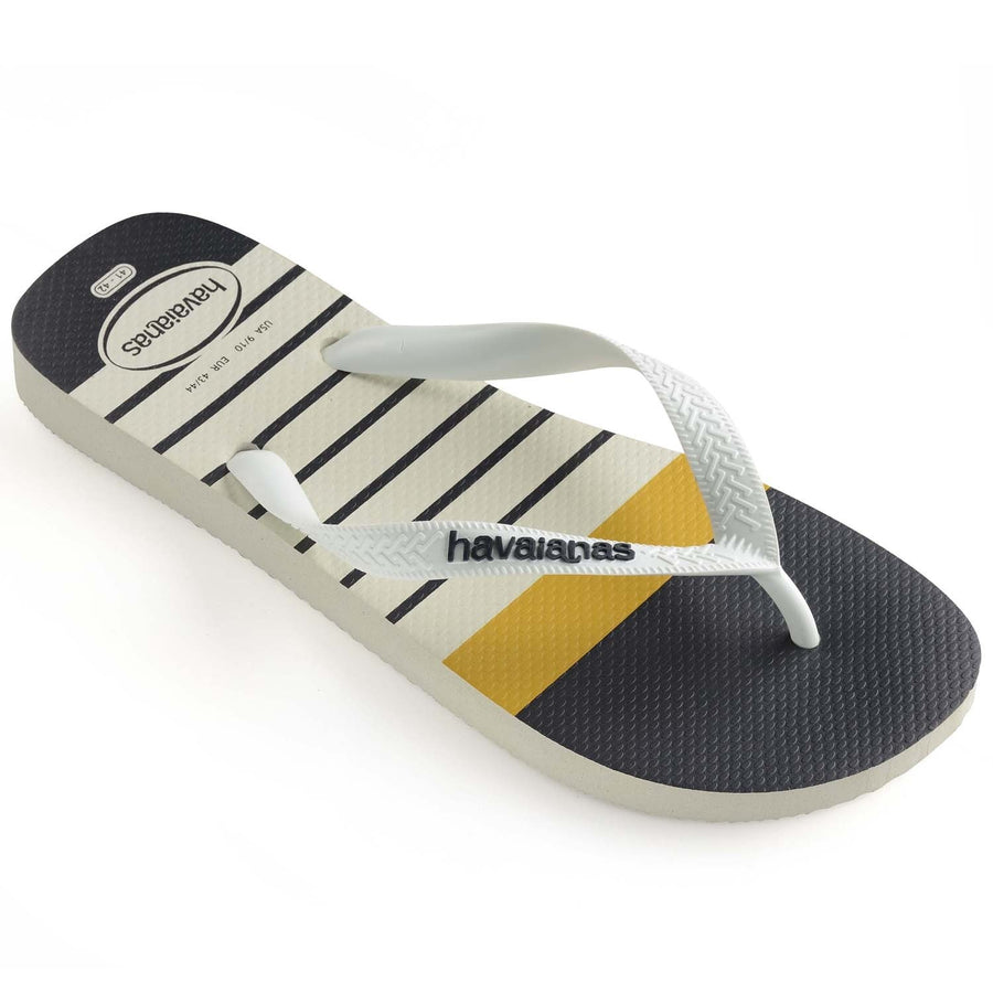 Havaianas  Mens Top Nautical White - shaymartian
