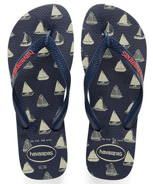 Havaianas Mens Top Nautical Navy Blue - shaymartian