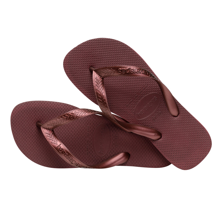 Havaianas Slipper Top Tiras - Grape Wine - shaymartian