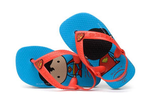 Havaianas Baby Heroes Turquoise - shaymartian