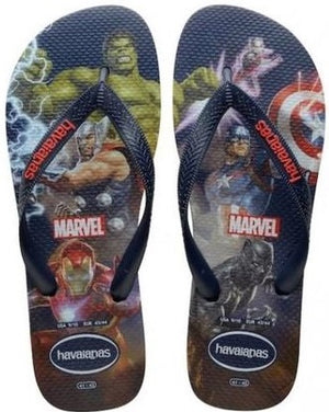 Havaianas Kids Top Marvel Navy Blue - shaymartian