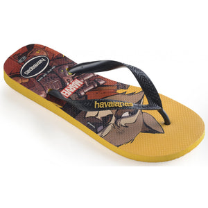 Havaianas Top Mens Marvel Banana Yellow - shaymartian